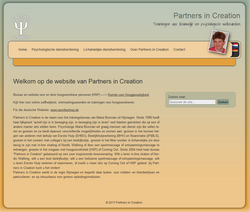 Vierde Website Partners in Creation